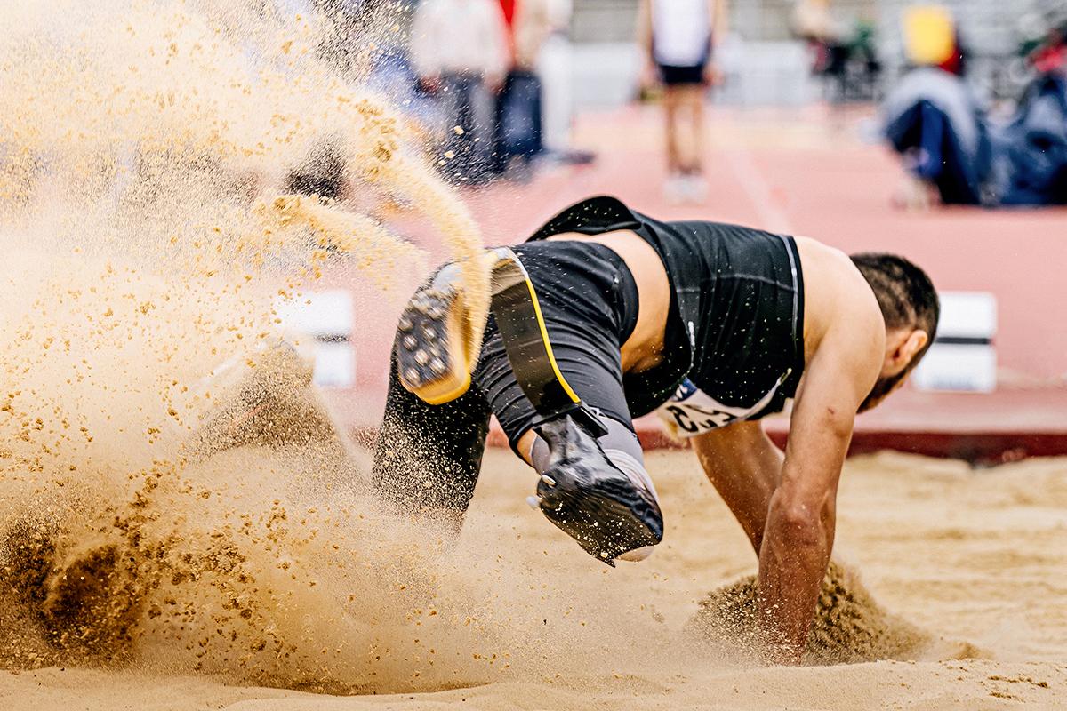 Long jump in para athletics