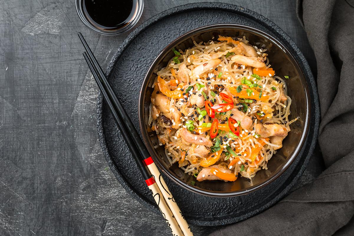 Stir Fried Italian Noodles